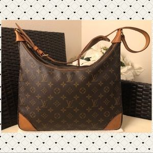 Authentic Louis Vuitton Boulogne 35